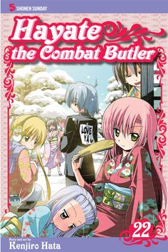 Hayate the Combat Butler, Vol. Read Anime Manga, Gunslinger Girl, Manga Covers, Anime Shows, First Christmas, Love Is All, Butler, Otaku, No Response