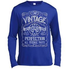 Vintage Aged To Perfection 1948 - 70th Birthday Gift T-shirt