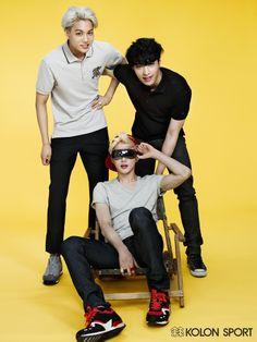 Kai, Lay and Suho <3 | Exo
