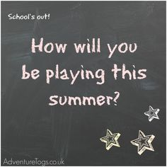 http://www.adventuretogs.co.uk/blog/how-will-you-be-playing-this-summer/