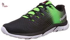 757631473c5 Reebok ZSTRIKE ELITE Chaussures de course Homme - black-solar green-bright  green-
