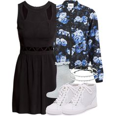 Kira Inspired Outfit with Requested Dress by veterization on Polyvore featuring polyvore, fashion, style, H&M, ONLY, Dorothy Perkins, DKNY and Gag & Lou