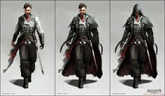 Assassin's Creed V: Character Designs by Happy-Mutt on deviantART. Victorian London concept.