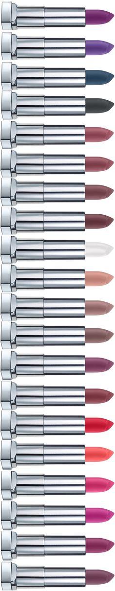 Maybelline the Bolds Color Sensational Lipsticks