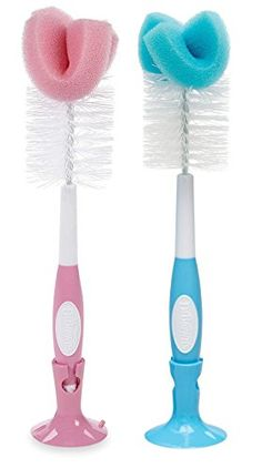 Dr Browns Baby Bottle Brush PinkBlue 2 Pack ** Read more  at the image link.Note:It is affiliate link to Amazon.