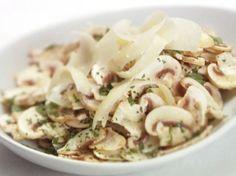 Fresh Mushroom and Parsley Salad from FoodNetwork.com Giada at Home