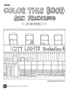 color this book new york city abbi jacobson 9781452117331 amazoncom books books pinterest abbi jacobson - Abbi Jacobson Coloring Book