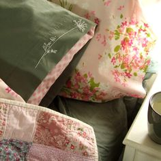 Queen Anne's Lace Pillowcase Project