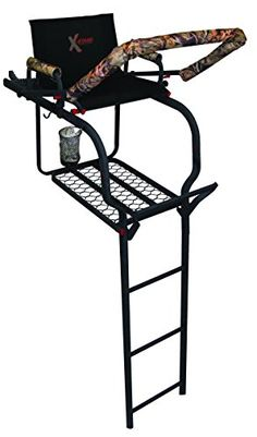 Hunting- X-Stand The Duke Ladder Stand, Black -- Find out more about the great…