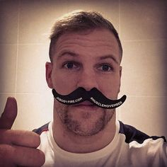 James is a big fan and has grown is own mo! But @jhbodyfire we are doing #MuscleMovember. Take a photo and tag us in using #MuscleMovember and @jhbodyfire. We then send you a discount code for our award winning supplements. Every purchase made, we make a donation to #Movember