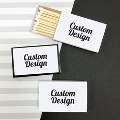 Custom MATCH BOXES with your own sticker design. Create your own personalized matchbox party favors. Chocolate Wedding Favors, Elegant Wedding Favors, Edible Wedding Favors, Wedding Favors For Guests, Craft Wedding, Wedding Shot Glasses, Custom Candles, Personalized Wedding, Custom Design