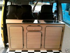 vw transporter removable kitchen pod - Google Search