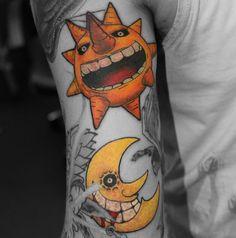 Soul Eater tattoo #tattoo #tattootom #bournemouth #anime Like me on Facebook: www.facebook.com/tattooisttom