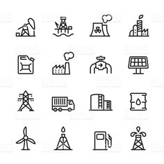Industry Station icons
