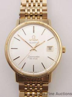 Genuine Omega Seamaster DeVille Date 1970s Mens Wrist Watch #Omega