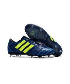 new product 081e5 d0b6a Adidas Messi Nemeziz 17.1 FG FODBOLDSTØVLE BLØDT UNDERLAG Fodboldstøvler  Blå Gul Lilla Adidas Sko, Lilla