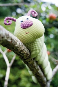 Toy Sewing Patterns Caterpillar1