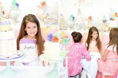 Baking party for girls