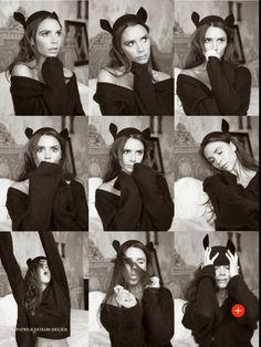 Victoria Beckham for Vogue UK August 2014 by Patrick Demarchelier