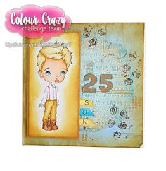 Crafty B Crazy Colour, Challenges, Crafty, Cover, Books, Art, Art Background, Libros, Book