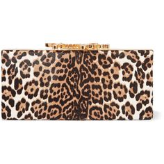 Jimmy Choo Celeste embellished leopard-print calf hair clutch ($710) ❤ liked on Polyvore featuring bags, handbags, clutches, leopard print, leopard handbags, calf hair purse, leopard clutches, jimmy choo handbags and leopard print clutches