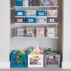 Clear Plastic Storage Boxes - Our Clear Storage Boxes Playroom Closet, Playroom Storage, Laundry Room Storage, Kids Storage, Storage Bins, Storage Drawers, Storage For Toys, Toy Closet Organization, Toddler Room Organization
