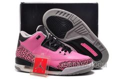 new arrival fef97 5dbff Buy For Sale Air Jordan 3 Retro Cherry Pink Black-Cement For Girls Online  from Reliable For Sale Air Jordan 3 Retro Cherry Pink Black-Cement For  Girls ...