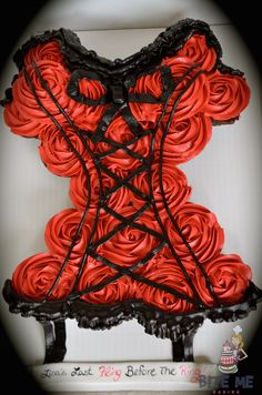 Corset Cupcakes by Bite Me Baking
