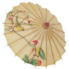 Display opened paper parasols on the wall and add dimension to your decor.