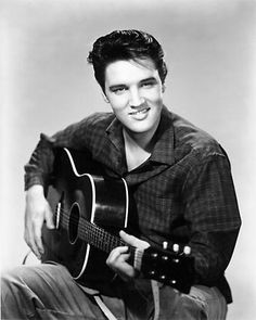 ♡♥Elvis with guitar in hand♥♡