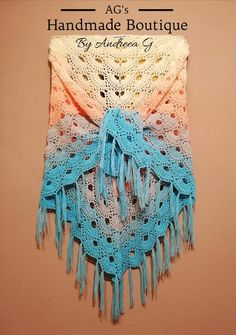 Handmade crochet virus shawl in gradient colors. It can go with any kind of outfit style, perfect and cozy for all seasons. Made of soft acrylic yarn. Machine washable. Universal size: 180/85cm, but it can also be made on demand with other measurements. After you place the order, please give us 5 Secondary Color, Primary Colors, Gradient Color, New Product, Shawl, Cozy, Seasons, Fashion Outfits, Boutique