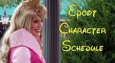 EPCOT character schedules - How to meet Disney World EPCOT characters