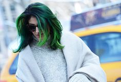 woah. green?