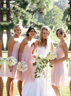 bridesmaid dress,pink bridesmaid dress, strapless/sweetheart bridesmaid dress, wedding party dress