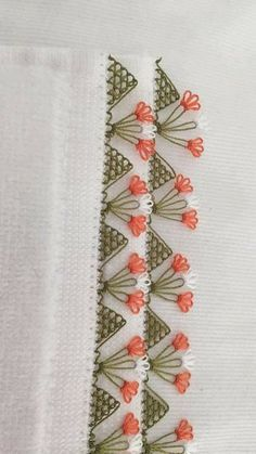 Ideas Crochet Lace Pattern Ribbon Crazy Quilting For 2019 Silk Ribbon Embroidery, Embroidery Stitches, Embroidery Patterns, Hand Embroidery, Knitting Patterns, Crazy Quilting, Crazy Quilt Stitches, Crochet Boarders, Swedish Weaving