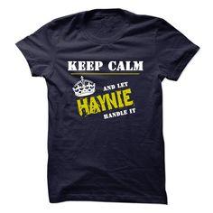(Tshirt Perfect Sale) Let HAYNIE Handle It Discount 20% Hoodies, Funny Tee Shirts