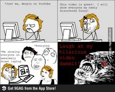 Showing funny video rage comic   Funny weird viral pics