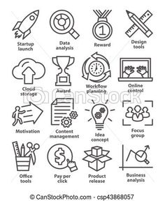 Vector - Business management icons in line style. Pack 28. - stock illustration, royalty free illustrations, stock clip art icon, stock clipart icons, logo, line art, EPS picture, pictures, graphic, graphics, drawing, drawings, vector image, artwork, EPS vector art