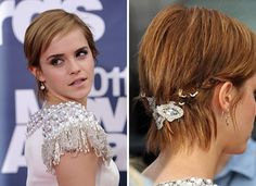 Emma is ridiculously skilled at growing our her pixie cut  -_- 10 Pretty Ways to Grow Out Your Pixie Cut via Brit + Co.
