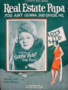 Red Hot Mama Sophie Tucker