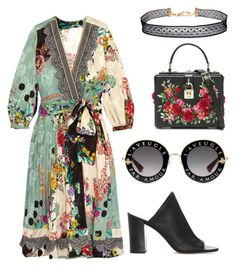 """roses ay"" by queenshaima on Polyvore featuring Etro, 1.State, Gucci, Dolce&Gabbana and Humble Chic"
