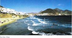 San José is a village and fishing port in the centre of Parque Natural de Cabo de Gata, in the Province of Almería.