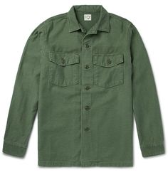 Japanese label Orslow Army Shirt
