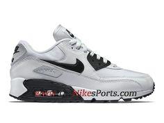 new product 47363 b0915 Running Nike Air Max 90 Essential Chaussures Officiel Prix Pas Cher Pour  Femme Blanc Noir 616730 110 - 1812010893 - Le Nike Officiel Site.