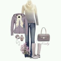 Great outfit for winter/spring