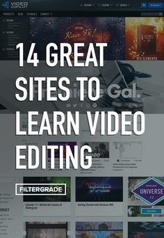 14 Great Sites to Learn Video Editing – FilterGrade Photography And Videography, Digital Photography, Photography Tips, Photoshop Photography, Product Photography, Start Youtube Channel, Film Tips, Videos, Le Web