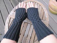 Silkes (Strick-) Tag ;-): Handstulpen