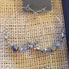 NWT Express hoop earrings NWT Express hoop earrings Express Jewelry Earrings