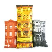 Build your own block cushion set: this links to a store but DIY photographs printed or transferred onto fabric build your own sofa city! Your own neighbourhood, places you've been, places you've yet to go.