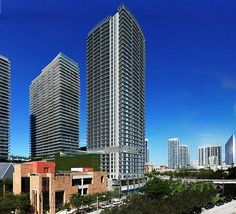 """Sky Garage"" Luxury Condos Miami. Enables owner to lift up their vehicles in a sky-lift to their apartment."